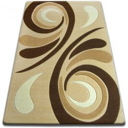 Carpet FOCUS - 8695 garlic WAVE beige gold