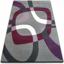 Carpet FOCUS -  F242 gray SQUARE grey violet
