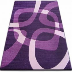 Carpet FOCUS -  F242 dark violet SQUARE