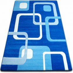 Carpet FOCUS - F240 blue SQUARES