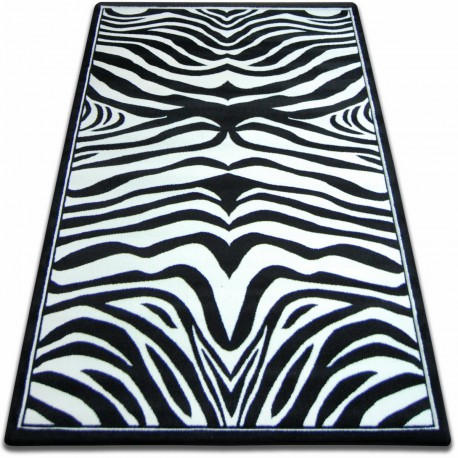 Carpet FOCUS -  9032 ZEBRA black and white