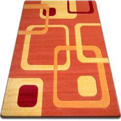 Carpet FOCUS -  F240 orange SQUARES