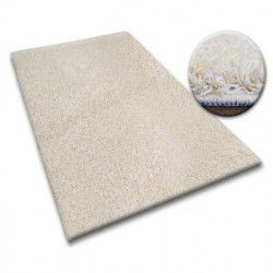 Carpet - wall-to-wall SHAGGY 5cm cream
