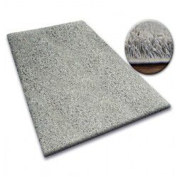 Carpet - wall-to-wall SHAGGY 5cm gray