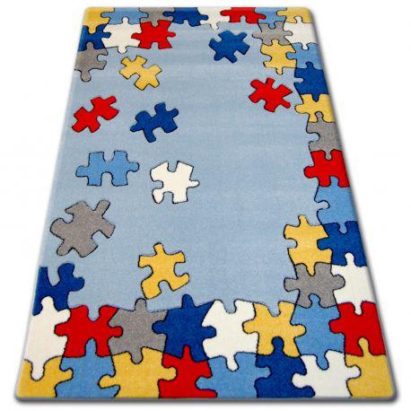 Carpet children HAPPY C212 blue