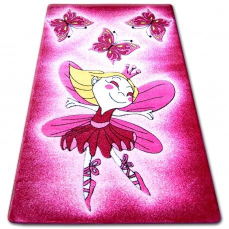 Carpet children HAPPY C123 pink