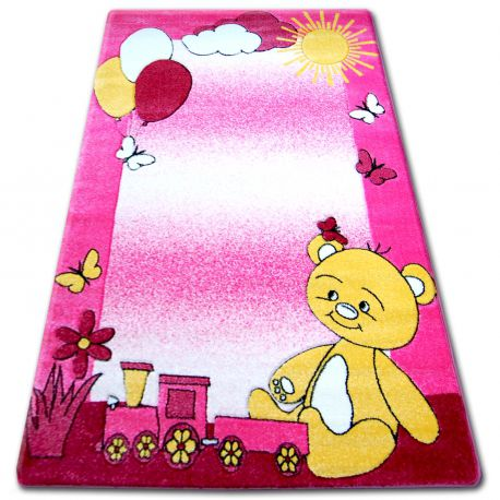 Carpet children HAPPY C210 pink