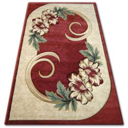Carpet heat-set KIWI 5087 red