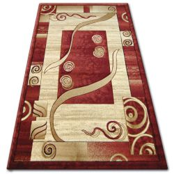 Carpet heat-set KIWI 4623 red