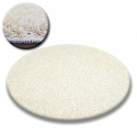 Carpet circle SHAGGY GALAXY 9000 cream