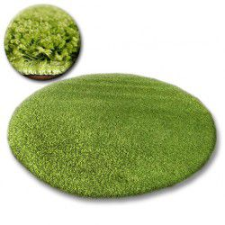Carpet circle SHAGGY GALAXY 9000 green