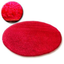 Carpet circle SHAGGY GALAXY 9000 red