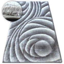 Carpet Shaggy SPACE 3D B217 grey