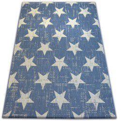 Carpet FLAT 48648/591 SISAL - stars