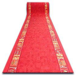 Runner anti-slip RAMZES red