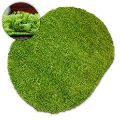 Carpet oval SHAGGY GALAXY 9000 green
