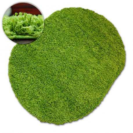 Carpet oval SHAGGY GALAXY 9000 green