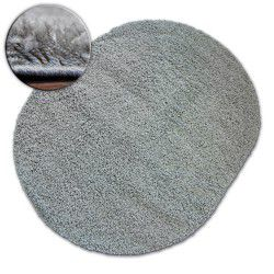 Carpet oval SHAGGY GALAXY 9000 grey