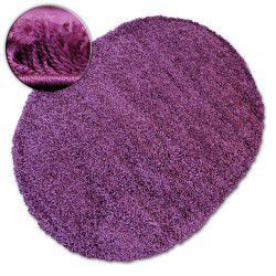 Carpet oval SHAGGY GALAXY 9000 violet
