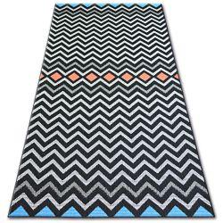 Carpet COLOR 19309/839 Zigzag Black