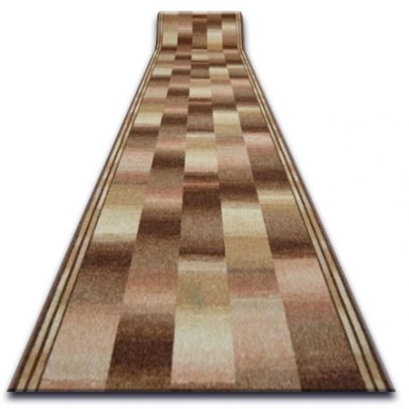 Runner anti-slip IKAT beige