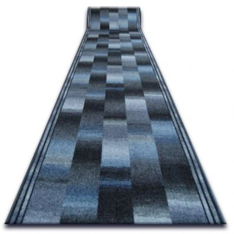 Runner anti-slip IKAT gray