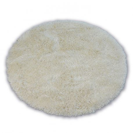 Carpet LOVE SHAGGY circle design 93600  cream