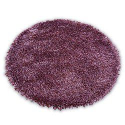 Carpet LOVE SHAGGY circle design 93600 purple