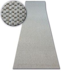 Runner SISAL FLOORLUX design 20433 silver PLAIN