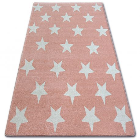 Carpet SKETCH - FA68 pink/cream - Stars