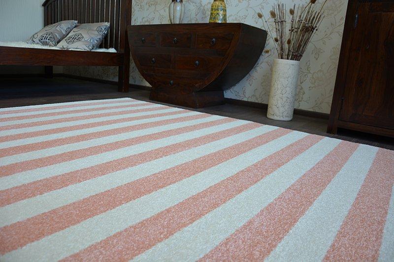 ... Carpet SKETCH - F758 pink/cream - Strips ...