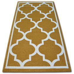 Carpet SKETCH - F730 gold/cream trellis