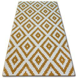 Carpet SKETCH - F998 gold/cream - Squares