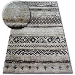 Carpet SHADOW 1835 cream / brown - Diamonds