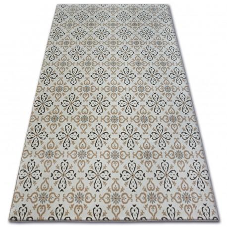 Carpet ARGENT - W4949 Flowers Cream