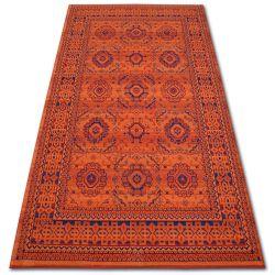 Carpet VERA 3240 terra / blue WOOL