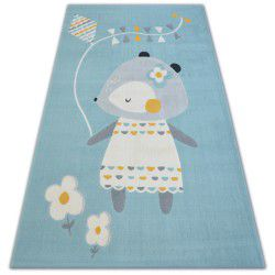 Carpet PASTEL 18403/032 - MOUSE blue