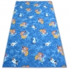 Carpet for kids FROZEN blue ELSA