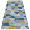 Carpet NORDIC HEXAGON grey/blue G4596