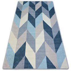Carpet NORDIC FIR blue G4582 Herringbone