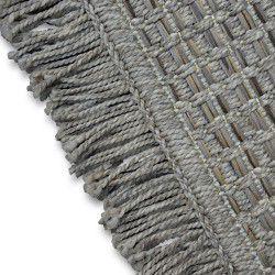 Carpet BOHO 46215/051 SISAL - beige checkered tassels