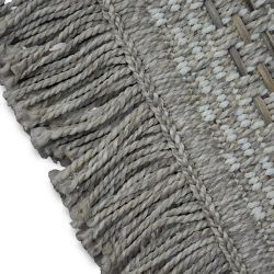 Carpet BOHO 46222/651 SISAL - beige diamonds tassels