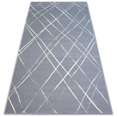 Carpet BCF BASE STROKES 3970 SQUARES grey