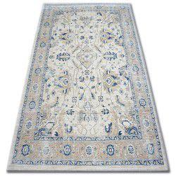 Carpet ARGENT - W7040 Cream / Blue