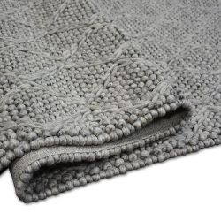 Carpet Hills Wool 93520 silver