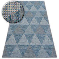 Carpet LOFT 21132 ivory/silver/blue