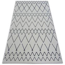 Carpet SENSE 81249 white/navy