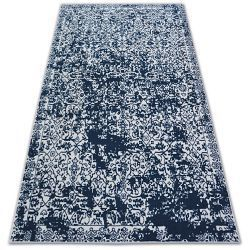 Carpet SENSE 81260 white/navy