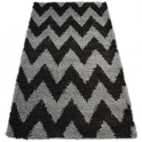 Carpet SHAGGY GALAXY - 8176 grey ZIGZAG