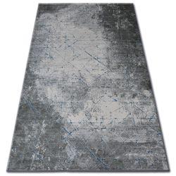 Carpet ACRYLIC YAZZ 6076 CRACKED CONCRETE grey / blue